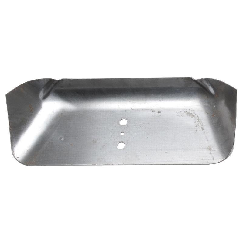 Dual exhaust floor pan reinforcement plate 65 mustang rh for 1965 mustang floor pan