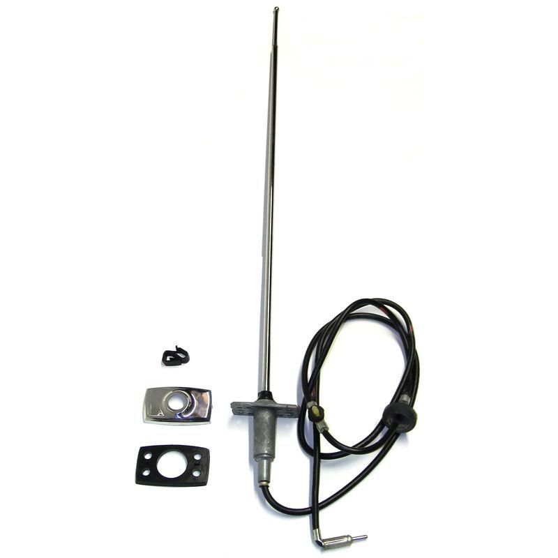 1969-1970 mustang radio antenna  exact repro  o e m   mca approved